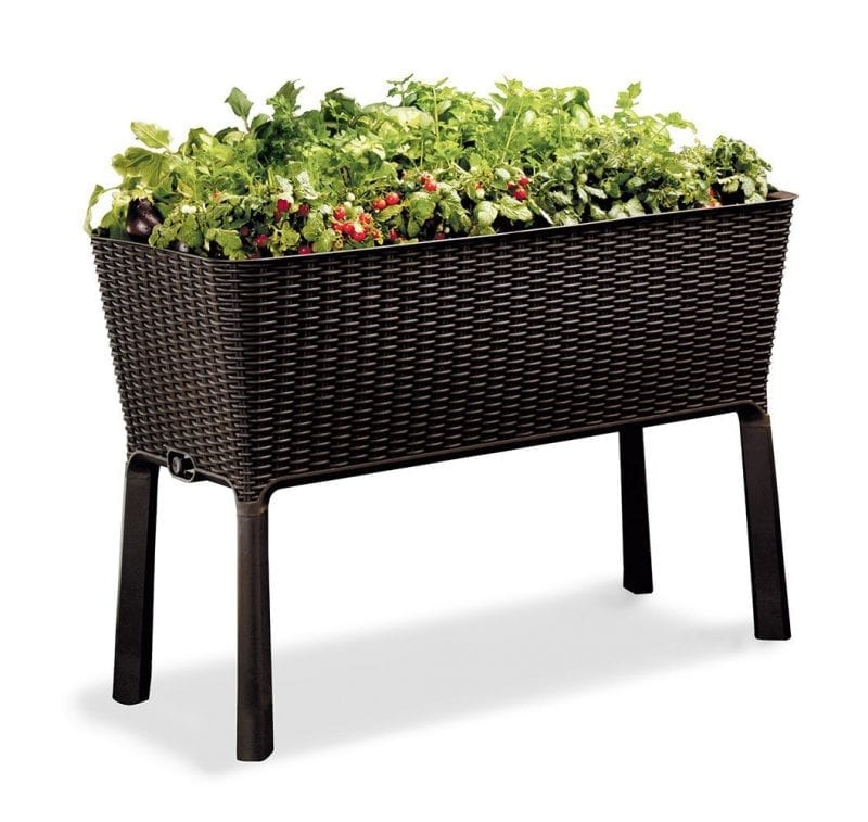Keter Raised Elevated Patio Garden Flower Planters