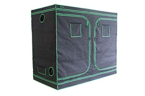 "Hydroponic Indoor Grow Supplies Tent Green Hut 96""X48""X78"" 600D Mylar Hydroponic Indoor Grow Supplies Tent"