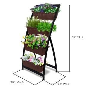 pots planters grow supplies vertical garden